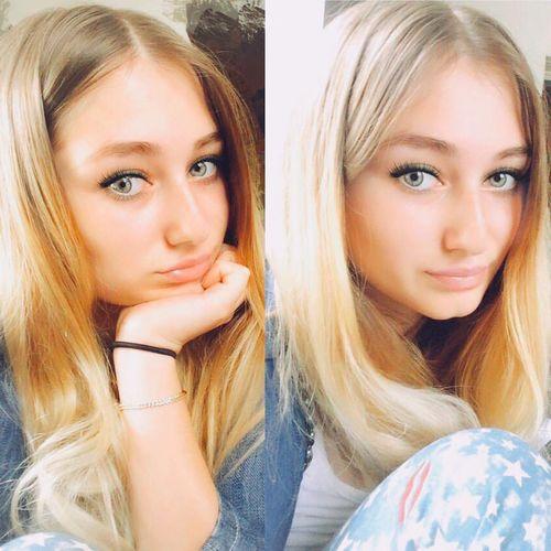 Nofiltering] Me nofilter That's Me Taking Photos Selfie ✌ Green Eyes Myhair Iphone6 PS4