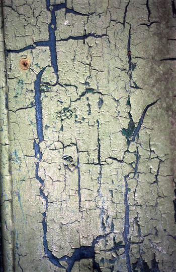 old peeling paintwork on wood Abstract Bad Condition Blue Board Close-up Cracked Damaged Deterioration Distroted Flake Green Grunge Old Pain Texture Textured  Wood