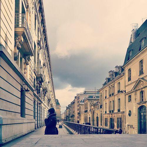 among history, towards future. . Paris