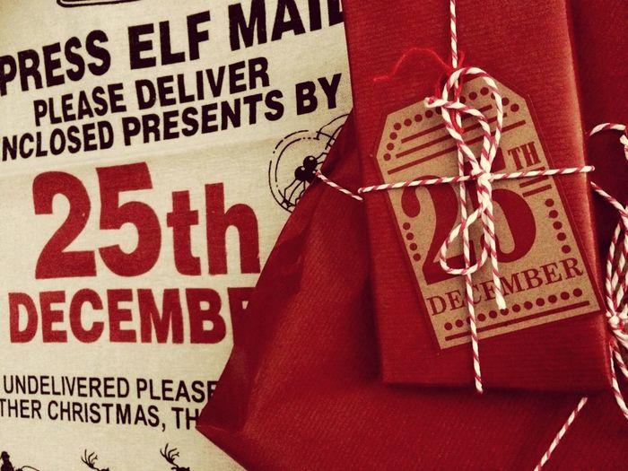 Christmas Christmas Presents  Santa Sack 25 December