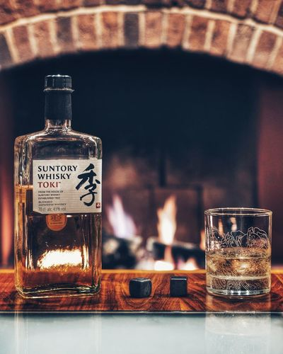 Whisky time Suntory Whisky  Suntory Time Drink Drinking Glass Whisky Japanese Whisky Product Photography Lounge Chillout Close-up Whiskey Liqueur Hard Liquor