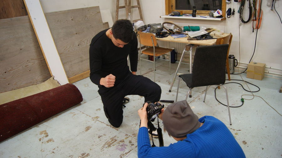 Making a music video with the band, Thornstone - Been a Fighter. Maybe First and last.https://www.youtube.com/watch?v=o18QXshBHpM 2011 Amaturemodel Back In The Day Been A Fighter December First Eyeem Photo Greenland Ilulissat Music Video Music Video Shoot! Workshop First Eyeem Photo Artist Amature Photography Kneel Kneeling Kneeling Down Music Music Photography  Musician