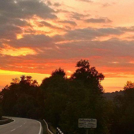 Donauradweg Donauradweg Austria Tramonto Paesaggi RomanticSunset Romantic Sunset