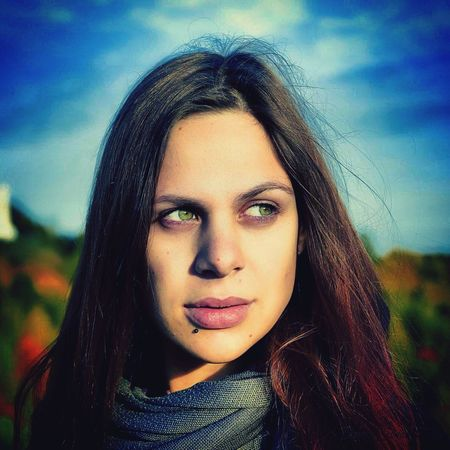 A Photoshoot and best Portrait of the day with My Love She's a Muse for my Photoeye Autumn Colors in the Background The Portraitist - 2017 EyeEm Awards The Portraitist - 2018 EyeEm Awards