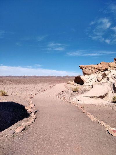 Valle del arco iris in atacam desert - chile