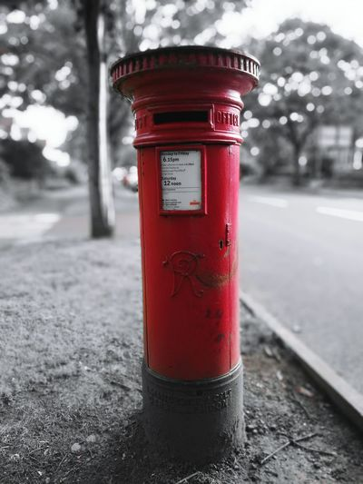 Royal Ciphers Queen Victoria  Red Post Box