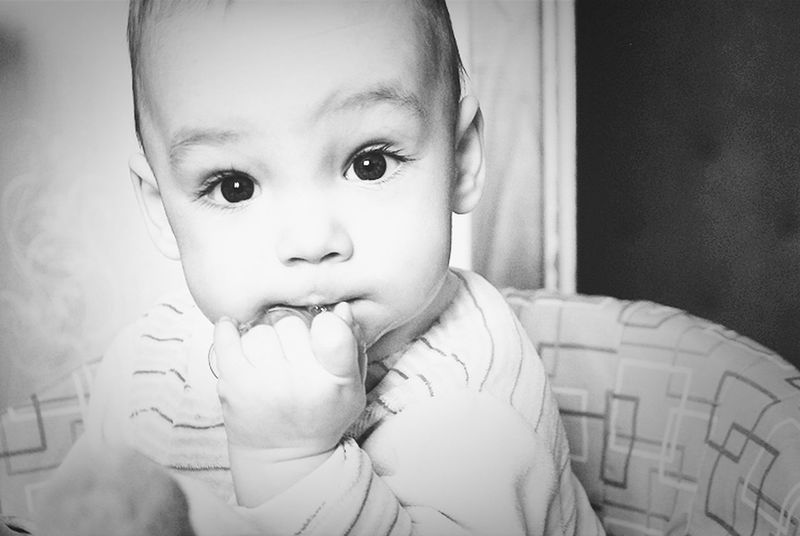 Baby Brother My Little Brother ❤ Black & White