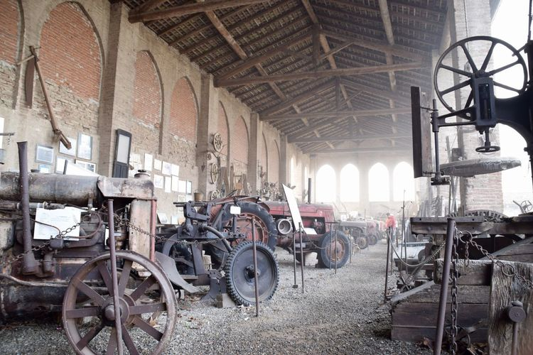 SecoloXIX Antichita Ferro Macchine Agricole No Persone Ruggine Storia Trattori