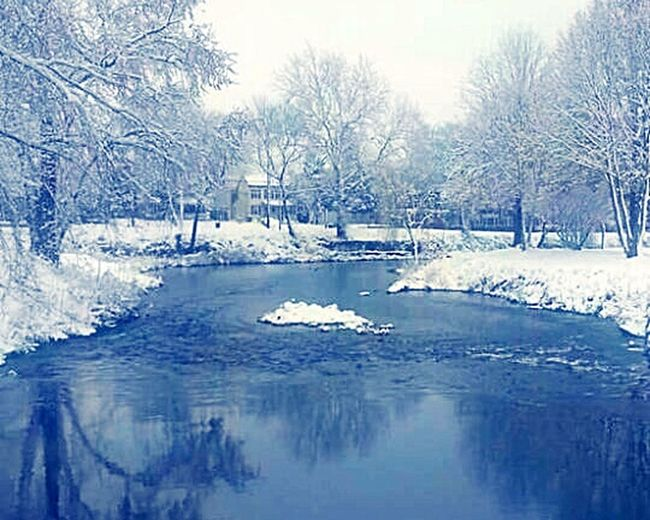 Beautiful Nature Water Reflections Snowy River Taking Photos Enjoying Life Glistening Serene Outdoors Scenery Shots EyeEm Nature Lover My Winter Favorites Photos By Jeanette The Great Outdoors With Adobe Shades Of Winter