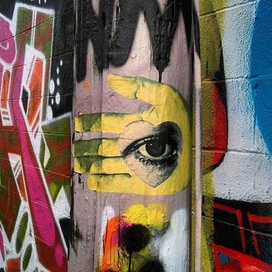 Wheatpaste Pasteup Streetart Denverstreetart Graffiti Graffhunter Denvergraffiti Kokobayer Herbertbayer