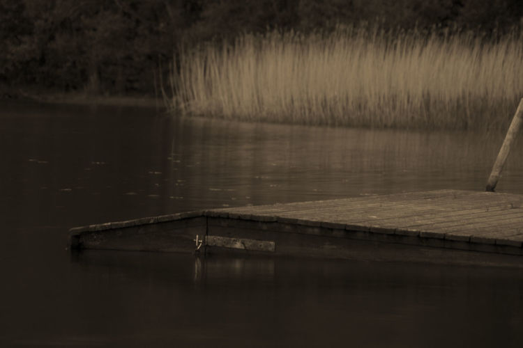 Beauty In Nature Calm Day Empty Idyllic Lake Nature No People Non-urban Scene Outdoors Reflection Rippled Scenics Standing Water Tranquil Scene Tranquility Water