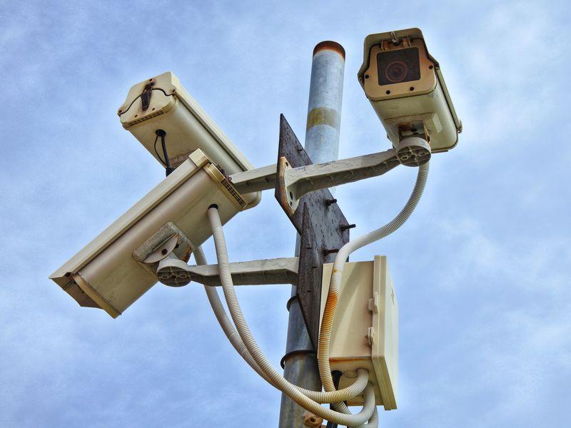 CCTV security camera Cctv Cctv Camera CCTV Security Security Security Camera Security System Pole Sky Computer Crime Safe Network Security Electric Pole