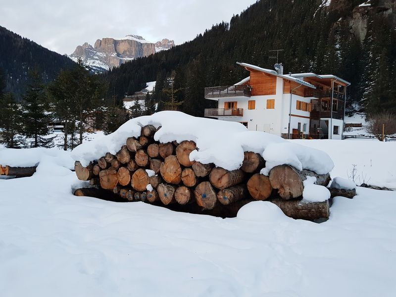 Italy🇮🇹 Blue Sci Rocks Wood - Material Brown Snow Winter Stack Cold Temperature House Log Mountain Building Exterior Built Structure Architecture Nature Woodpile Rustic Outdoors No People Day Tree
