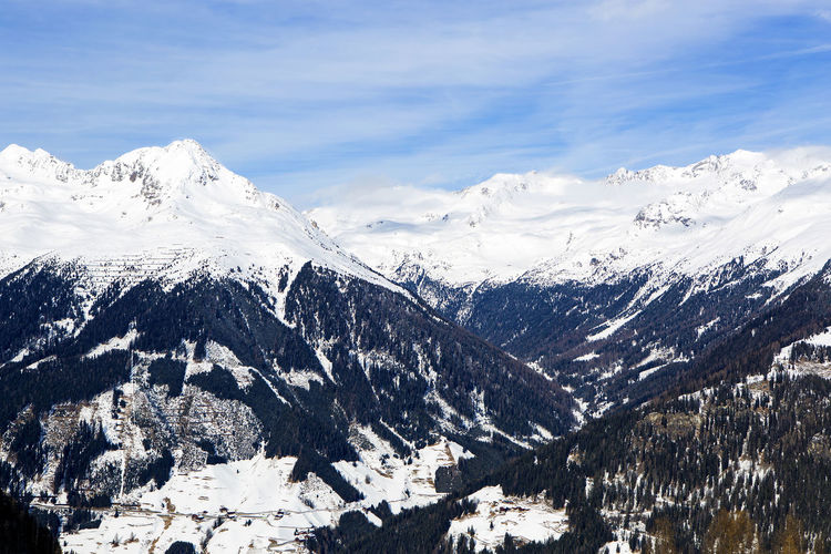 Austria Austria Mountains Austrian Alps Austrianphotographers Beauty In Nature Cold Temperature Day Landscape Mountain Mountain Range Nature No People Outdoors Sky Snow Tirol  Wilderness Winter
