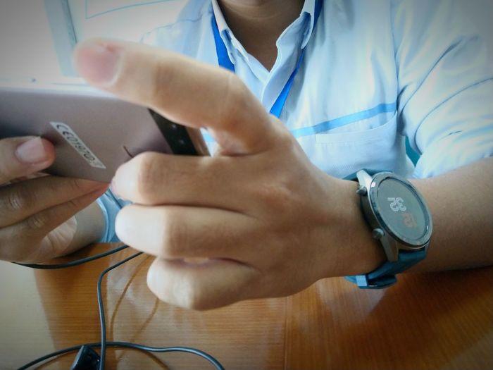 Human Hand Time