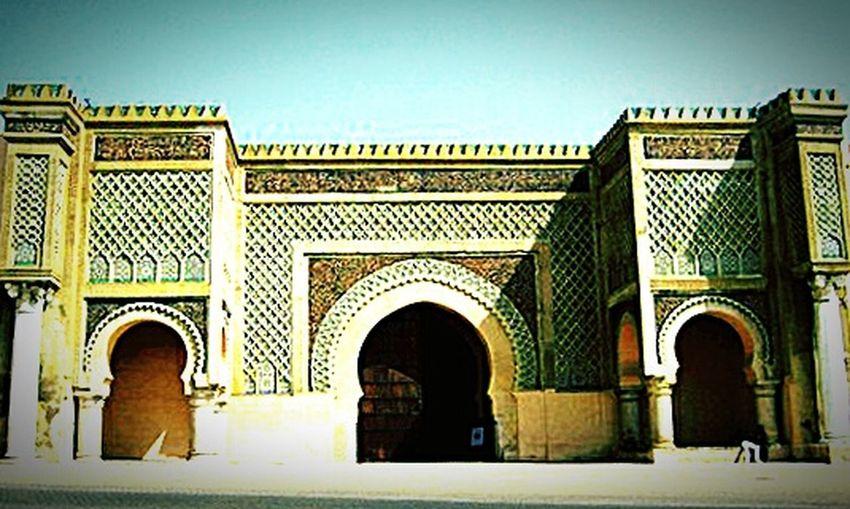 Maroc Meknès City Bab Mansour Moulay Ismail
