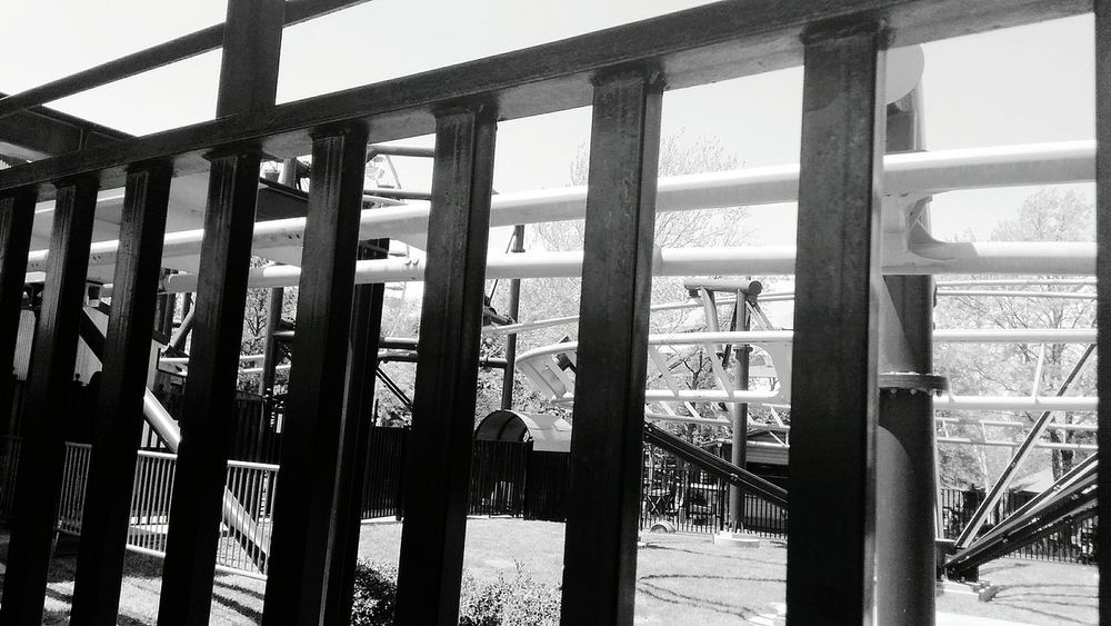 Rollercoaster Roller Coaster Sunlight Sky Architecture Deterioration Amusement Park Ride Amusement Park