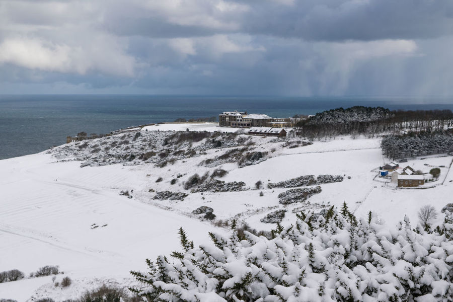 Beast from the East, Ravenscar, North Yorkshire North Yorkshire Ravenhall Ravenscar Life Robinhoods Bay WeatherFront Winter Beast From The East Beauty In Nature Blizzard Cloud - Sky Cold Temperature England Horizon Over Water Nature Outdoors Ravenscar Scenics Sea Seaside Seaview Sky Snow Tranquil Scene Tranquility