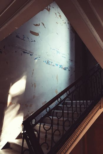 Deterioration Windowlight Sunlight Italy Staircase
