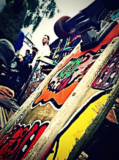 Hello World Skateboarding Skateboard Oslo Norway G.S.F Weekend Funky Real Deal Fleamarket
