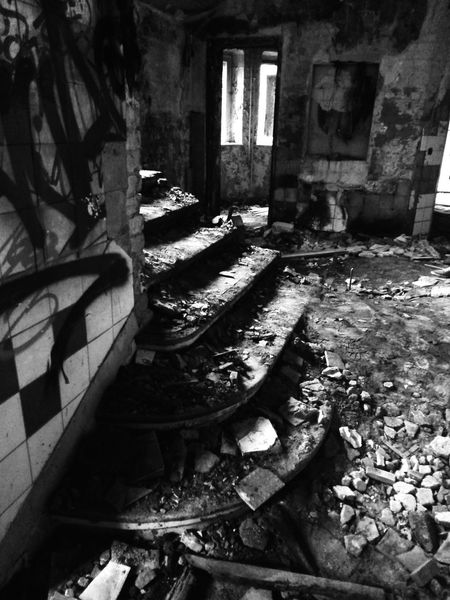 Urbex Walking The Stairs Blackandwhite EyeEm Best Shots - Black + White