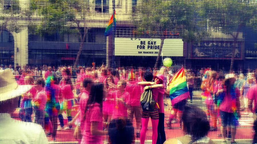 Gaypride2015 Sanfrancisco Bighug Samsung Galaxy Note4 Sfpride Prideparade2015 Gayboys Check This Out Perfectly Timed PhotoPicsart