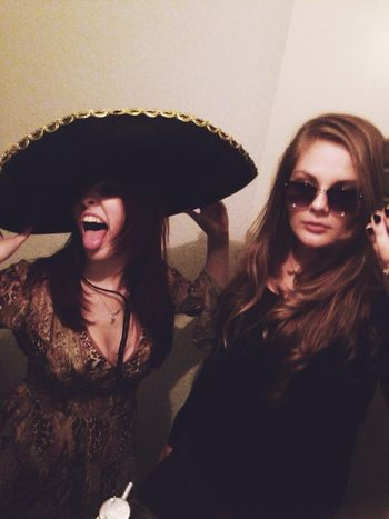 But first let me take a selfie ❤️ haha Mexican Night Tequila Girls Night Out BFF ❤