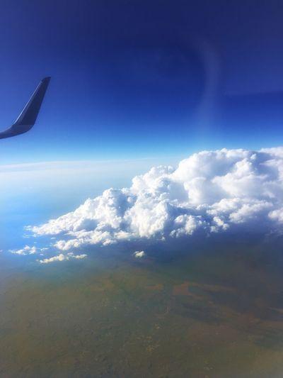 Plane Window View Jet Blue Travel Photography