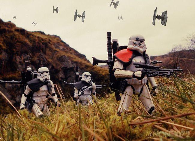 Imperial Invasion Star Wars Star Wars The Black Series Starwarstoys Toy Toyphotography Action Figures Toy Photography Stormtrooper Scotland Starwars Black Series Rogue One Soldiers Hasbro Soldier