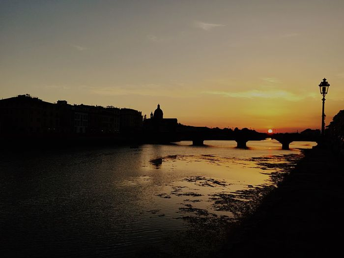 Florence Florance Italy Italy❤️ Sunset Sunset_collection Sunset Silhouettes Sun Sunsets