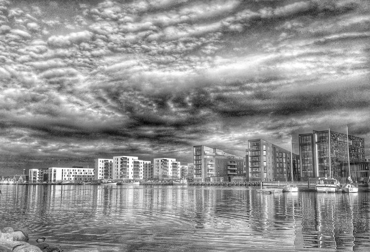 City Life Cityscapes Blackandwhite Blackandwhite Photography Coastline 43 Golden Moments Sunset Cityscape Skyline Denmark Coastal_collection Coastline Landscape Fjord Summer From My Point Of View IPhoneography Iphonephotography Black And White Photography Clouds Dramatic Sky Water Reflections Clouds And Sky Cloud_collection  Showcase July