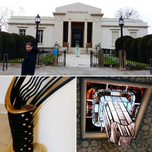 Cadeau des Usa a la ville de Reims Building Exterior Outdoors Architecture Built Structure Library Carnegie USA France Reims Bibliotheque Bibliothek Architektur Artdeco Art Luminaire Escalier Stairs Treppe