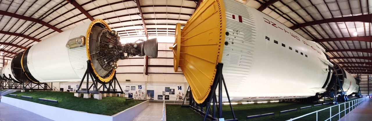 NASA Houston space center. Hugerocket Rocket