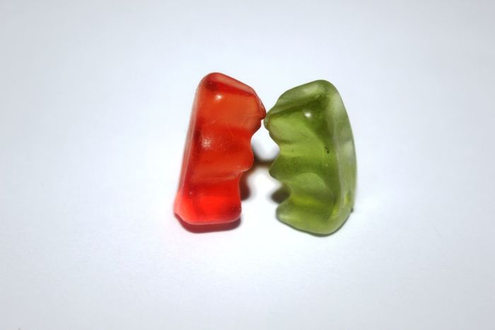 Kuss Kiss Love Still Life Food And Drink No People Food Green Color Candy Multi Colored Gelatin Dessert