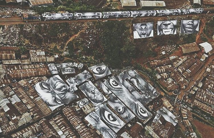 Kenya street art Kibera