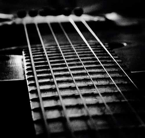 My old guitar Guitar Musical Instrument Musical Instrument String Music Fretboard Musical Equipment Selective Focus Plucking An Instrument Indoors  Close-up EyeEmNewHere I LOVE MUSIC *_* I Love Music, ♫♪ Strings