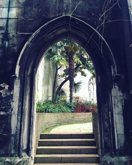 City Of London London Secrets Secret Places Secret Garden Garden Gothic Architecture Church Churchyard London