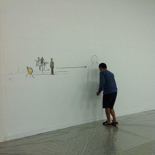 Fabrice Hybert Artist Exhibition
