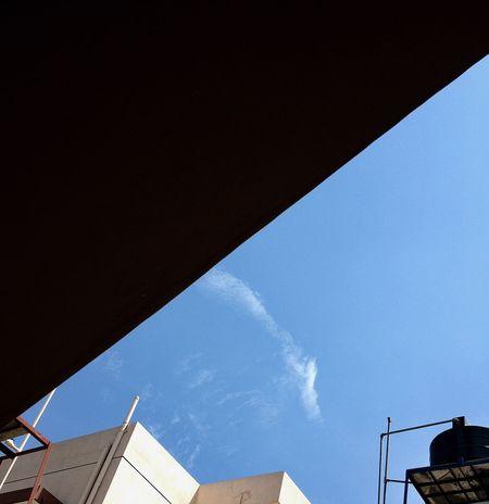 Smart Simplicity Blue Sky On My Roof Cobalt Blue By Motorola