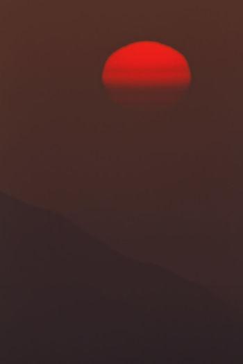Close-up of illuminated wall at night