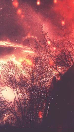 Starry Starry Night World On Fire