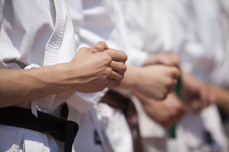 Karate Exercise Fight Karate Punch Martial Art Power Practice Skill  Defense Fist Hand Strike Human Hand Karate Karate Belts Karate Class Karate Training Karate Uniform Karateka Kata Kimono Position Practitioner Self-defense Sport Strength Unrecognizable Person