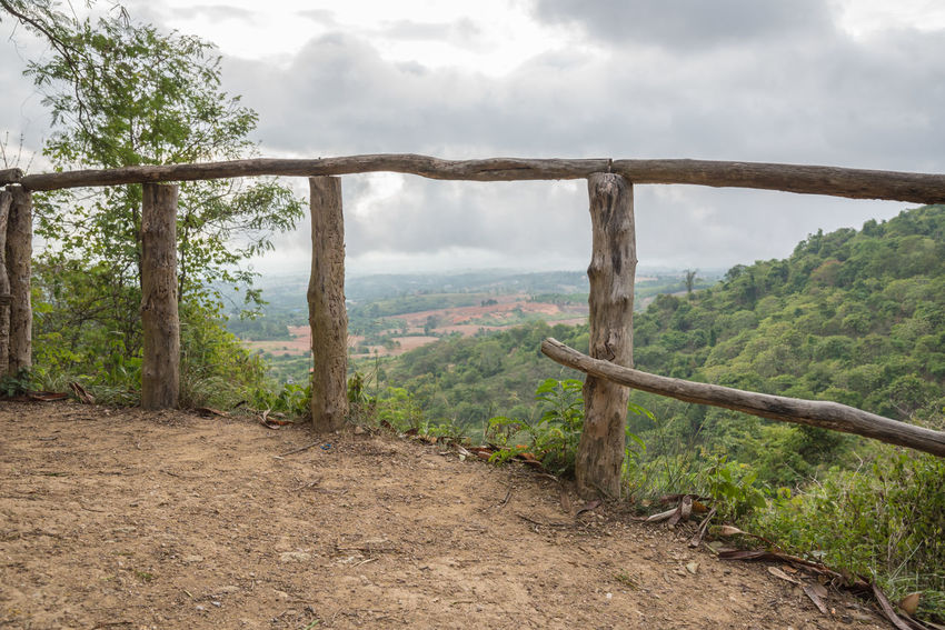 Freshness Mountain View Nature Sky And Clouds Thailand Travel Tree View Beauty In Nature Countryside Forest Fresh Green Nature Lanscape Mountain Rainy Season Sky