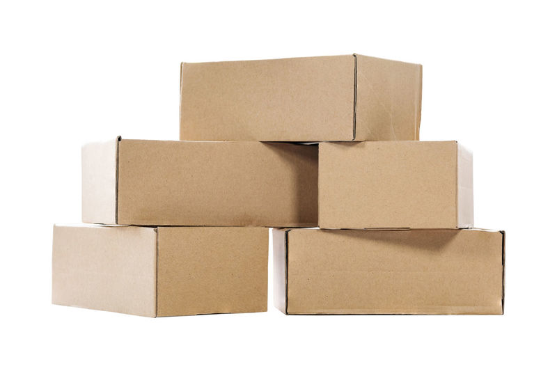 Stack of empty paper boxes for product packaging and delivery isolated on white background. Cardboard White Background Paper Studio Shot Container Box Cardboard Box Cut Out Indoors  No People Box - Container Close-up Group Of Objects Still Life Package Brown Brown Paper Copy Space Stack Medium Group Of Objects Packing Blank Moving Office Emty Stack