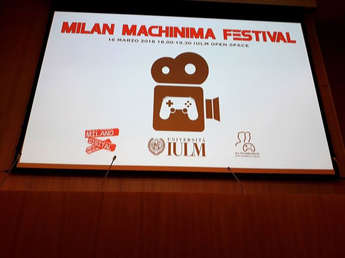 Milan Machinima Festival Iulm University Milan Machinima Festival Videogames Film Shorts
