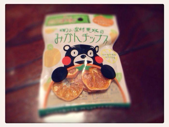 くまモン Orange Chips Yammy