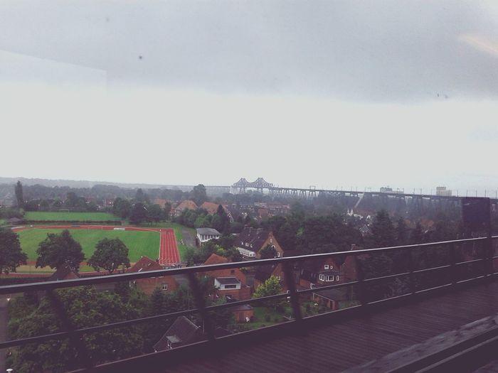 Rain Day Architecture Trainbridge