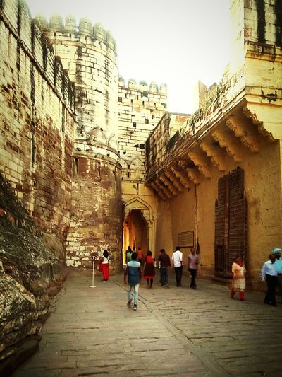 Fort of Maherangarh jodhpur