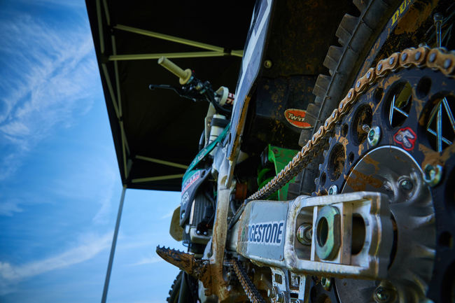 Motorcross Motorcycle close up Motorcycle Chain Close-up Communication Day Low Angle View Machinery Metal Mode Of Transportation Motocross No People Outdoors Sky Transportation Wheel