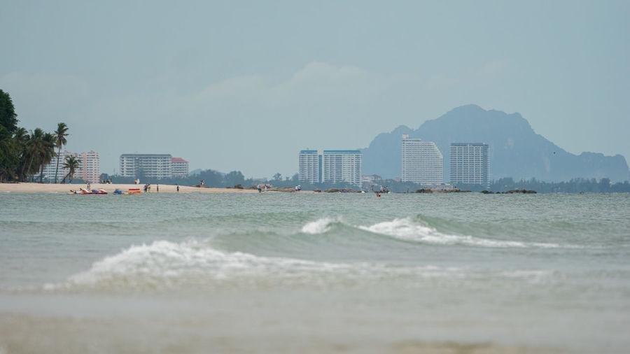 Ocean waves,